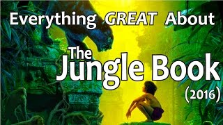 Video Everything GREAT About The Jungle Book! (2016) MP3, 3GP, MP4, WEBM, AVI, FLV Juni 2018