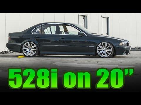 Static BMW E39 528i on 20