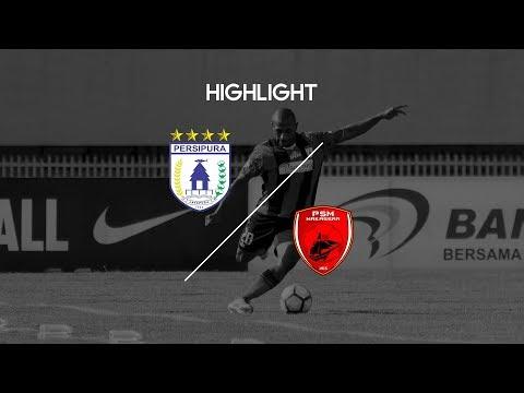 Cuplikan Pertandingan Liga 1 Persipura Jayapura vs PSM Makassar 26 September 2017