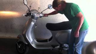 6. How To Kickstart a Vespa LX 150