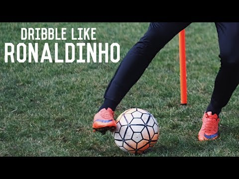 How To Dribble Like Ronaldinho | Five Easy Ronaldinho Skill Moves