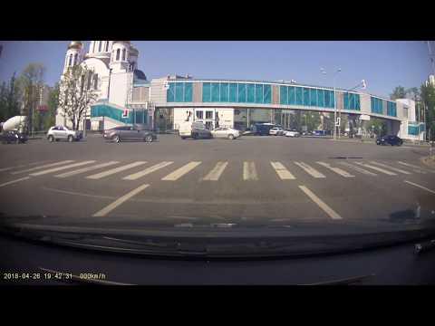 Авария в Москве на улице Ярцевской
