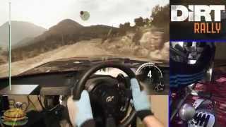 Download Lagu DiRT Rally simulator (NEW game 2015) - Steering Wheel gameplay Fully Manual, Ultra Graphics. Mp3