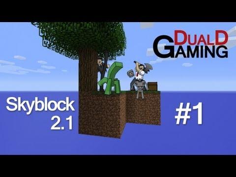 Minecraft på svenska | SkyBlock Survival 2.1 LP - #1