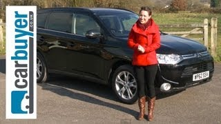 Mitsubishi Outlander SUV 2013 Review - CarBuyer