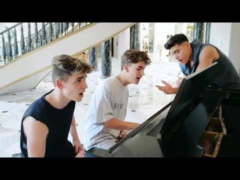 #NOWUNITED NOW UNITED Underwater ACOUSTIC ( Cover - Josh beauchamp , Noah urrea , bailey may)