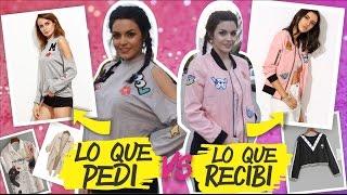 """♥ ♥ ♥ ♥ ♥ ♥ ♥ ♥ ♥ ♥ ♥ ♥ ♥ ♥ ♥ ♥ ♥ ♥ ♥ ♥ ♥ ♥ ♥ ♥ ♥ ♥ ♥ ♥ ♥ ♥ ♥ ♥ Antes que nada SUSCRIBITE: http://bit.ly/RVBMREEspero que les guste este expectativa vs realidad con ropa china! Les dejo los links de la ropita:. Romwe: https://goo.gl/csYKSY . Saquito que quedo para mi mama: https://goo.gl/Yp4BfN (talle M). Camisa hermosa con el gato: https://goo.gl/okYYGN. Top negro con alien: https://goo.gl/sJNsN0 (talle XL). Fail buso negro: https://goo.gl/ZNXZwFShein: http://www.shein.com/. Campera Bomber Rosa: http://bit.ly/2g4gFi6 . Buso Gris: http://bit.ly/2g447Hi COMO COMPRAR EN ARGENTINA:. 1: En las paginas de compra del exterior, en general siempre están por defecto puesto el precio en DOLARES. Algunas te ofrecen la opción de cambiar de moneda. . 2: Tenes que tener una método de pago que te permita hacer un pago al exterior. Lo podes hacer con una tarjeta de crédito y después te llega en el resumen de la tarjeta en dolares. .3: Tarda un promedio de 3 meses hasta que llegan a casa..4: Nunca me llego un paquete directo a casa, primero me llaga la carta de Correo Argentino, en donde me aclara lo que tengo que hacer. En general es llenar un formulario del Afip (http://www.afip.gob.ar/puertaapuerta/puertaApuerta.asp) pagar el impuesto (es un % del total de tu compre, en general no es mucho). Pago el VEP y luego imprimo todo para ir a retirar el paquete al correo.. 5: Trata que tu compra siempre sea menor a 200 dolares y que no pese mas de 2 kilos. No pidas el mismo articulo repetido muchas veces (presume """"venta"""") asi no tenes problema con la aduana. Nos hacemos amigos? Seguime:♥ Mi Instagram: http://instagram.com/azumakeup♥ Mi Snapchat: Azumakeup♥ Mi facebook: https://www.facebook.com/azumakeupofi...♥ Mi twitter: https://twitter.com/azumakeup♥ Suscribite: http://bit.ly/RVBMRE. Video no sponsoreado// Para contacto profesional al: azusad@live.com.ar // Mis representantes: clientes@clubmedianetwork.com //"""