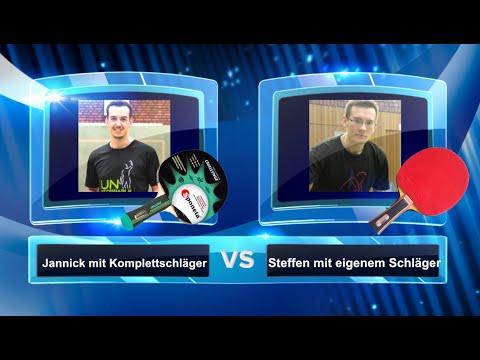 Die Challenge: Komplettschläger vs. normaler Schläger | Tischtennis Helden