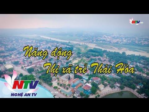 Năng động Thị xã trẻ Thái Hoà