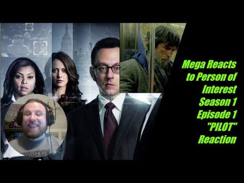 "Mega Reacts to Person of Interest Season 1 Episode 1 ""PILOT"" Reaction"