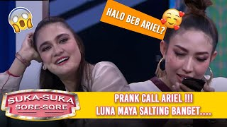 Video PRANK CALL ARIEL NOAH, Luna Maya Salting  - Suka Suka Sore Sore (9/1) PART 3 MP3, 3GP, MP4, WEBM, AVI, FLV Juni 2019