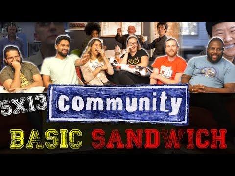 Community - 5x13 Basic Sandwich - Group Reaction