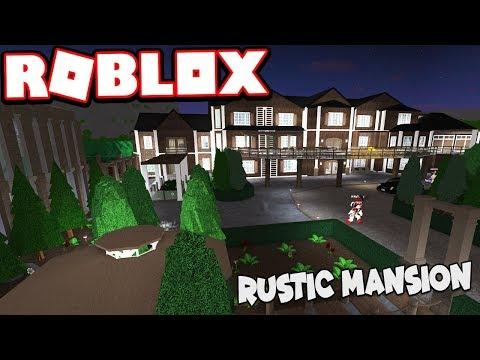 $1.6 MILLION RUSTIC STYLE MANSION!!!  Subscriber Tours (Roblox Bloxburg)