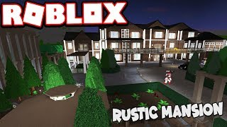 $1.6 MILLION RUSTIC STYLE MANSION!!! | Subscriber Tours (Roblox Bloxburg)