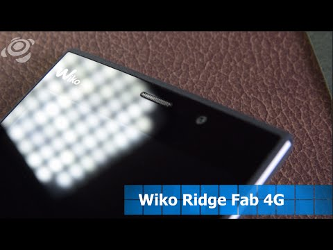 Youtube Video Wiko Ridge Fab 4G in schwarz grau