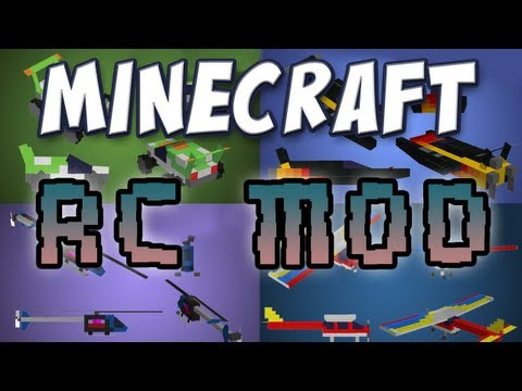 Minecraft - Remote Control Mod Video