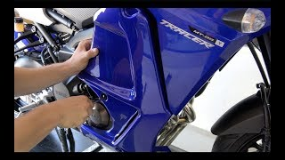 9. Fitting instructions Ermax low fairings - Yamaha MT-09 Tracer / FJ-09 2015/2017