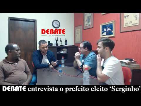DEBATE entrevista prefeito e vice-prefeito Sergio Guidio e Sebastião de Souza