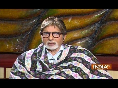 Amitabh Bachchan Praises Narendra Modi in His Biggest Interview - India TV