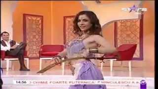 Cristina Gîrloiu invitata la  emisiunea  Necenzurat Antena Stars
