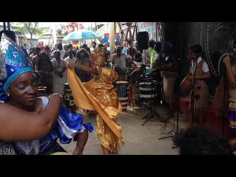 Dances for Oshun at Callejon de Hamel - 2017-12-17