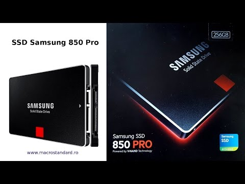 SSD Samsung 850 Pro la Laptop Gaming ASUS ROG GL552VX