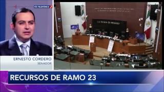 Entrevista al Senador Ernesto Cordero sobre el  Ramo23