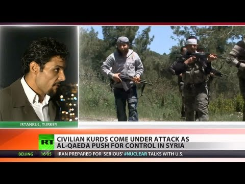 kurds - Unconfirmed reports have emerged detailing a new massacre in which 450 Kurds - including 120 children - were allegedly slaughtered by al-Qaeda-linked rebels ...