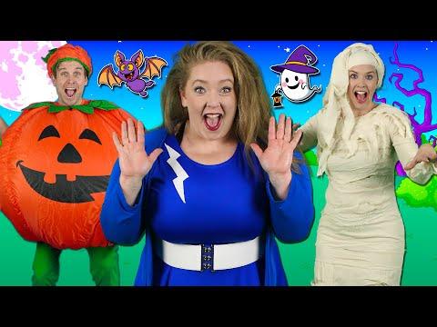 Alphabet Halloween - ABC Halloween Song