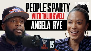 Talib Kweli And Angela Rye Talk Twitter, Hip-Hop vs Pop Rap, And The 2016 Election | People's Party