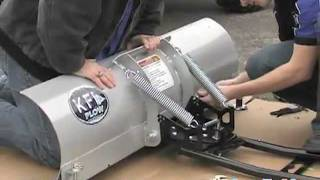 8. KFI ATV Snow Plow System From GearUp2Go