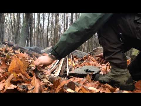 Bushcraft In Cold Weather And Rain