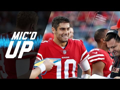 Video: Jimmy Garoppolo Mic'd Up vs. Titans