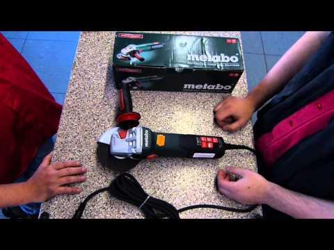Vorstellung Metabo Winkelschleifer Weltneuheit WEA 17-125 Quick