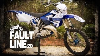 6. Out-take: YZ125 first ride on single track