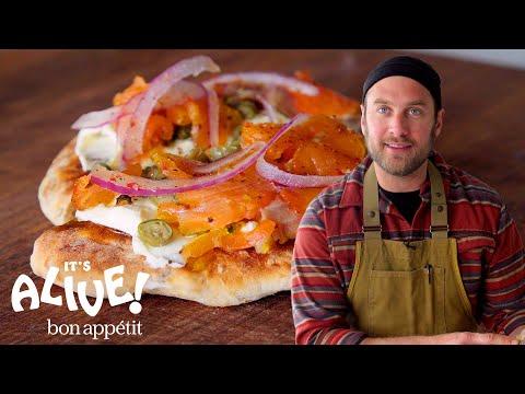 Brad Makes Gravlax (Cured Salmon) | It's Alive | Bon Appétit