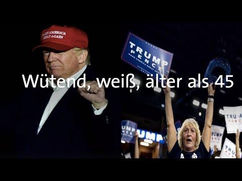 US Wahl 2016 - wer hat Donald Trump gewählt?