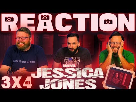 "Jessica Jones 3x4 REACTION!! ""AKA Customer Service is Standing By"""