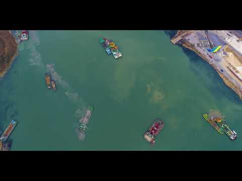 В порту Южный CHEC извлекла 2 млн куб. метров грунта в ходе дноуглубления
