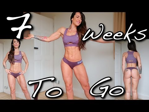 Diet plans - 7 Weeks Out  Physique Update  I Gained Weight
