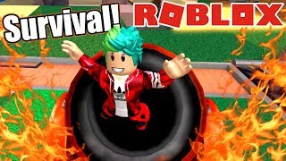 Super Survival en Roblox | Mundo de Minecraft | Juegos Roblox Karim Juega