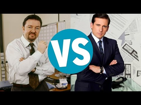 UK Office VS US Office (видео)
