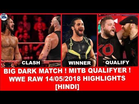 Dark Match(6 ManTag) | WWE Monday Night Raw 14th May 2018 Highlights [Hindi] | Raw 14/05/2018