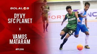 Video Dyvy SFC Planet Sleman (1) vs (4) Vamos Mataram - Highlights Pro Futsal League 2018 MP3, 3GP, MP4, WEBM, AVI, FLV Februari 2018