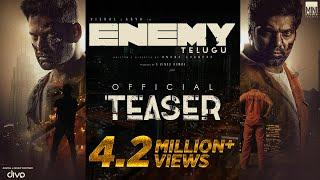 Enemy (Telugu) – Official Teaser | Vishal,Arya | Anand Shankar | Vinod Kumar | Thaman S