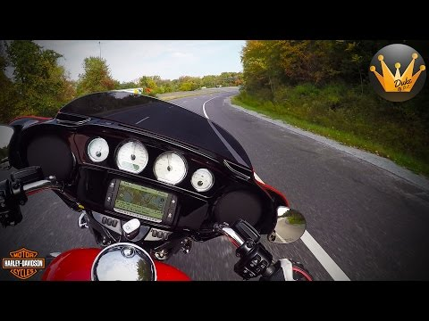 2017 Harley Davidson Street Glide   First Ride