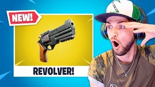 *NEW* LEGENDARY REVOLVER in Fortnite is CRAZY! by Ali-A