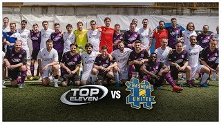 WATCH THE FULL MATCH HIGHLIGHTS HERE: http://norde.us/t11hashtag Hashtag United came to Belgrade, Serbia to take on the Top Eleven team! Take a look behind t...