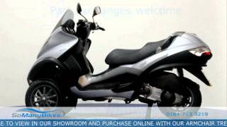 10. Piaggio MP3 250 Overview | Motorcycles for Sale from SoManyBikes.com
