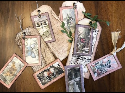 TUTORIAL - Let's Make Framed Hang Tags - Tracie Fox DT Project